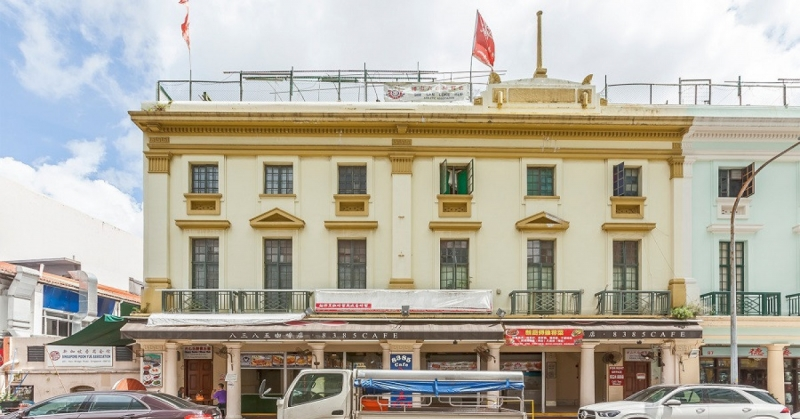 Two adjoining shophouses on Keong Saik Road on sale for $30.8 mil